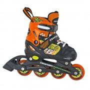 Детские раздвижные роликовые коньки Tempish Swist оранжевые 30-33 размер (уценка)