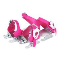 Детские раздвижные двухполозные коньки Tempish Feeez розовые