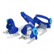 Детские раздвижные двухполозные коньки Tempish Feeez синие