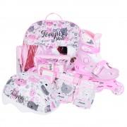 Детские раздвижные роликовые коньки Tempish Kitty Baby skate (комплект)