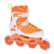 Детские раздвижные роликовые коньки Tempish Vestax (фитнес/беговые) оранжевые